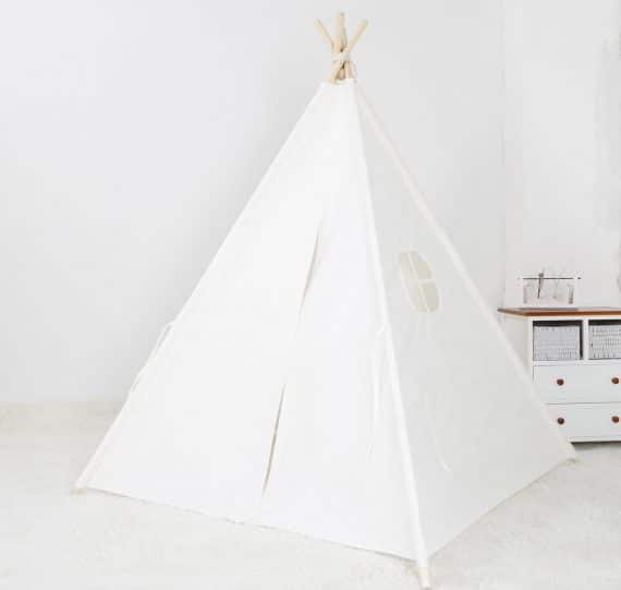 tipi speeltent wit